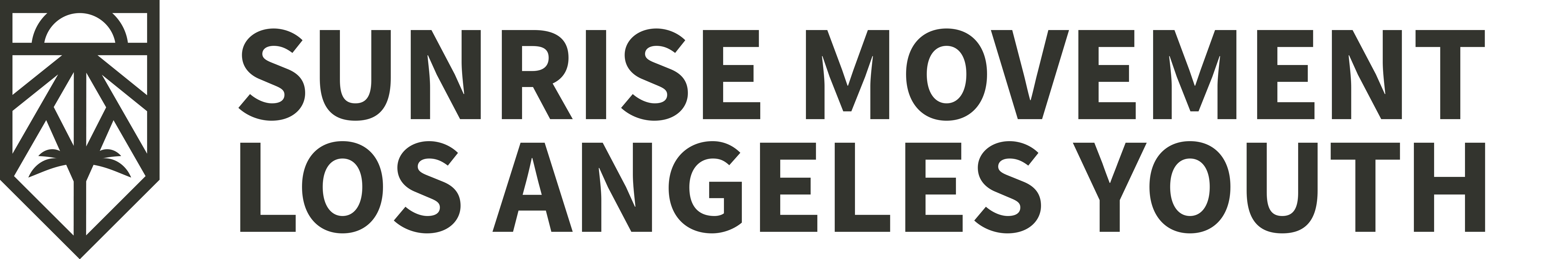 Sunrise Movement Los Angeles Youth Logo